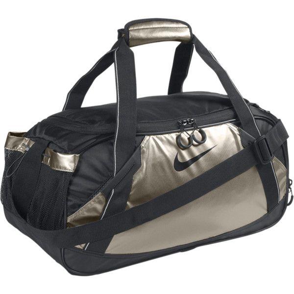 Nike Varsity Girl Metallic Medium Duffel Bag - Metallic Zinc, ONE SIZE ($40)