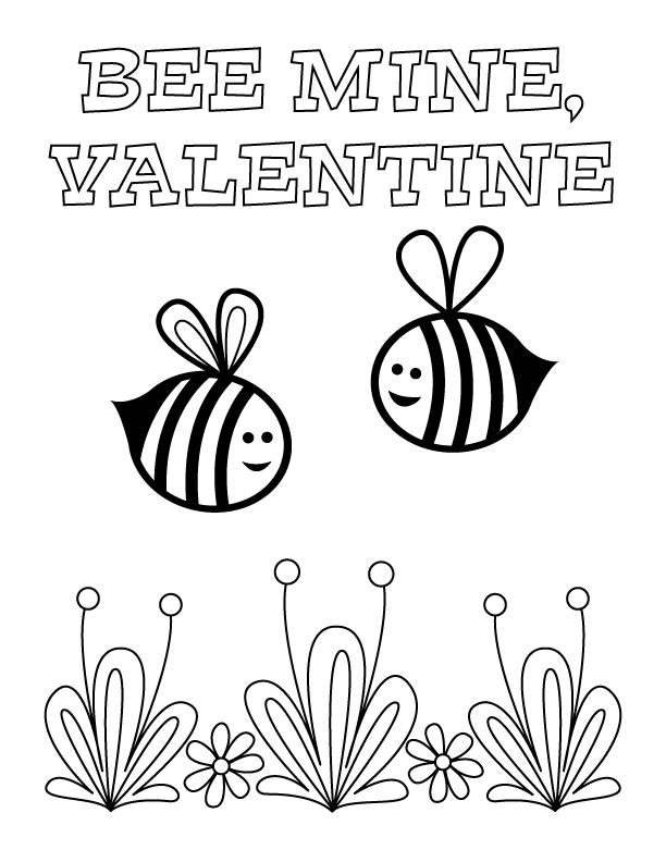 Coloring Pages   manualidades de San Valentín para niños ...