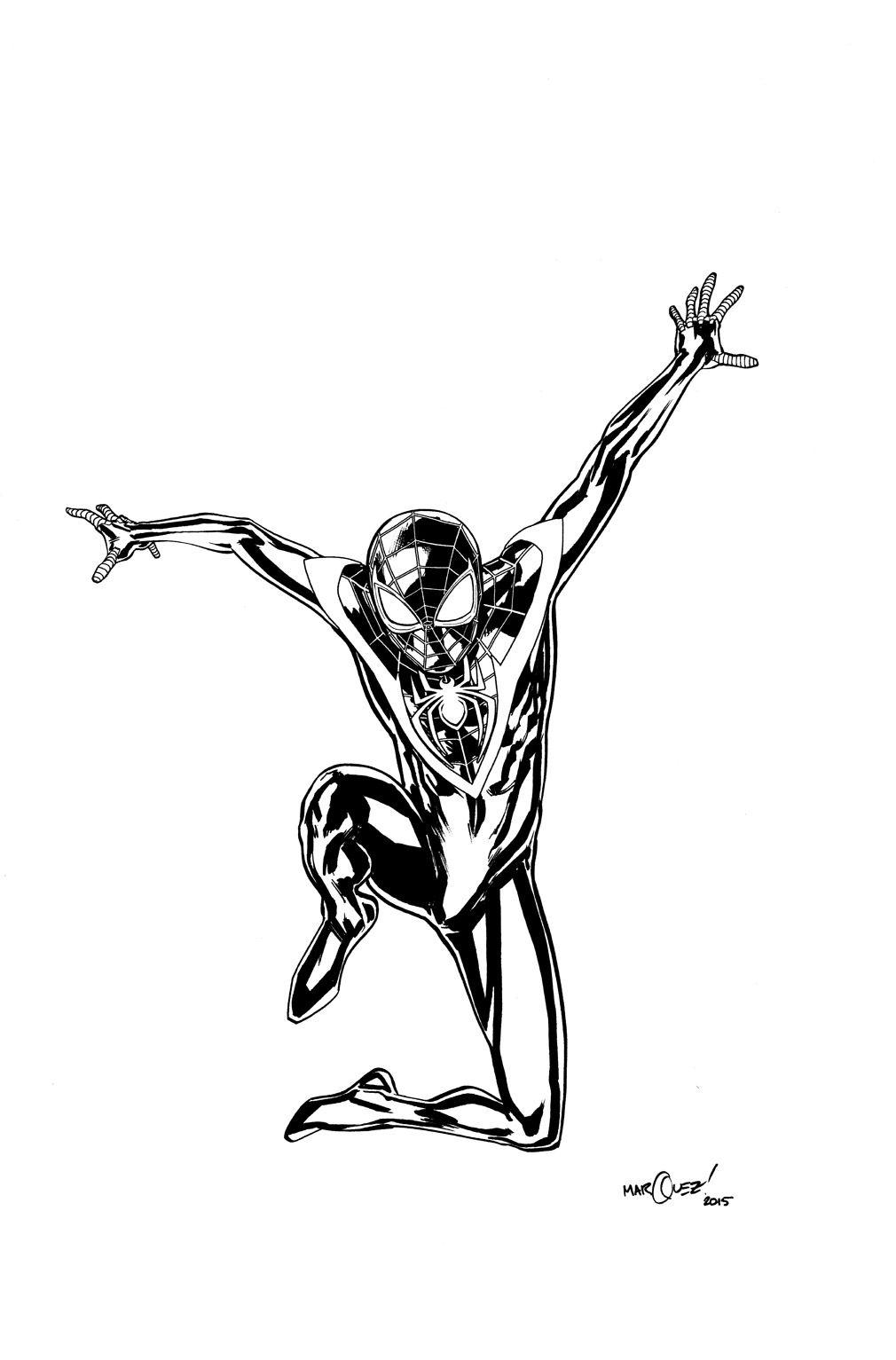 Ultimate Spider-Man by David Marquez * | Geek | Pinterest ...