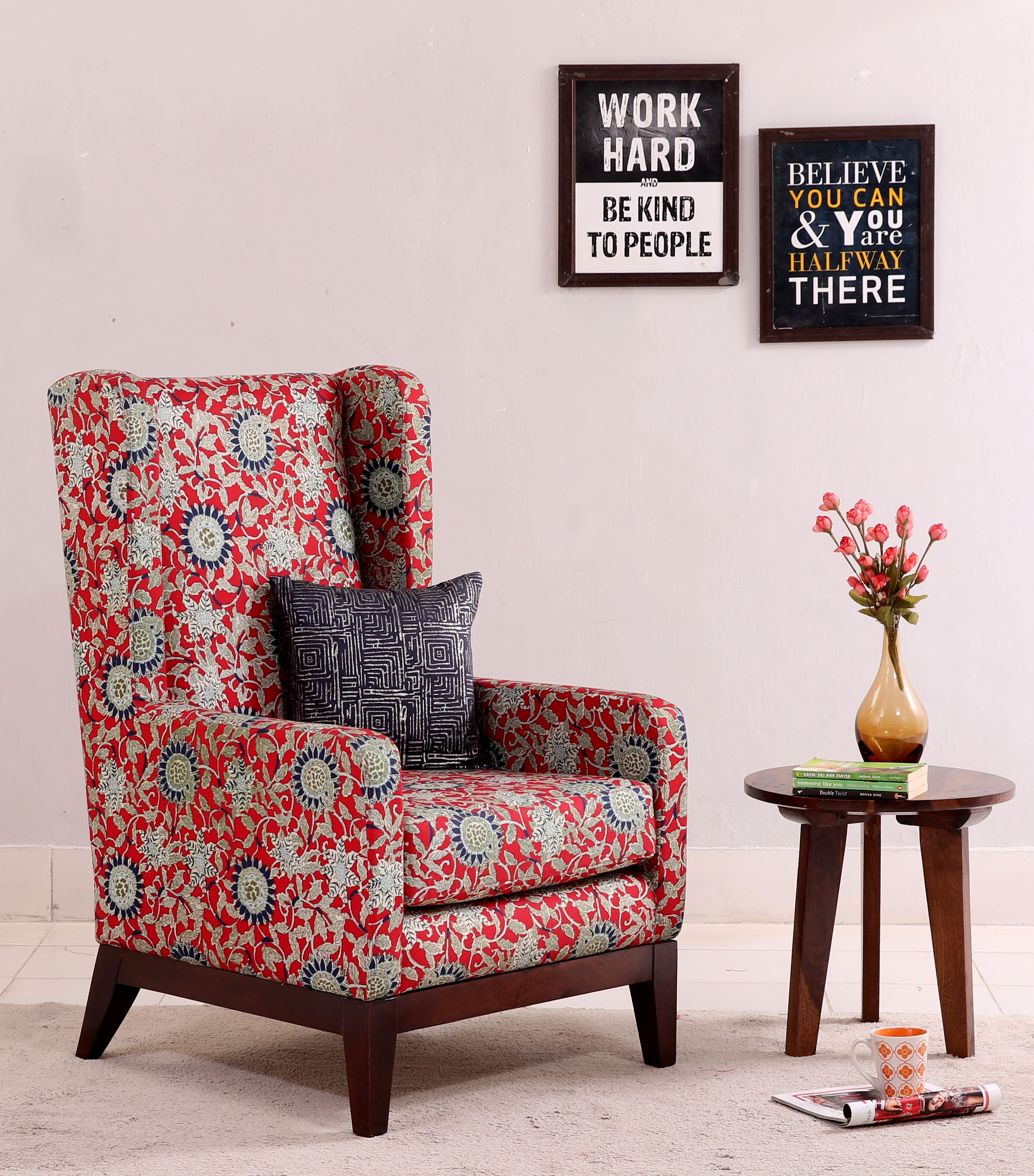 Give Your Room A Royal Look With Classy Lounge Chairs Joanloungechair From Woodenstreet Is An Astounding Furniture Unit To Mak Chair Cool Chairs Chair Design