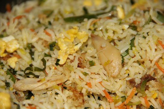 Receta De Arroz Frito Con Pollo Y Verduras Receta Arroz Frito Receta De Arroz Frito Recetas Con Arroz