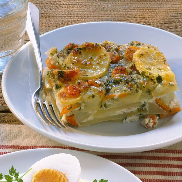 Photo of Vegetarian vegetable casserole