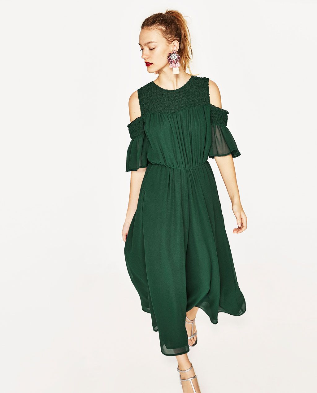 b3bc900bf19c OFF-THE-SHOULDER JUMPSUIT-DRESSES-WOMAN-COLLECTION AW/17 | ZARA Spain