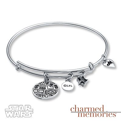 Star Wars TIE Fighter Bangle Bracelet Sterling Silver guOU2Y