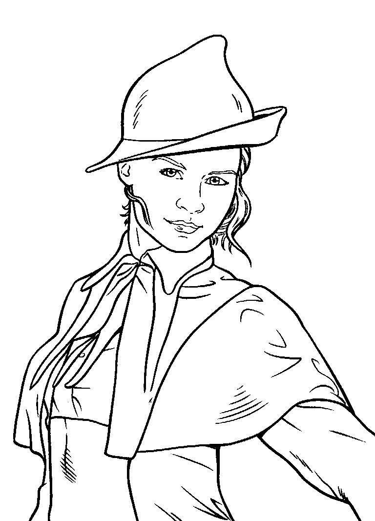 Fleur Delacour Harry Potter Coloring Pages Harry Potter Colors Harry Potter Coloring Book