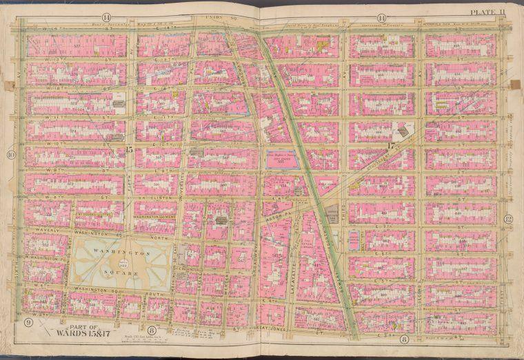 Atlas of the city of New York, Manhattan Island...