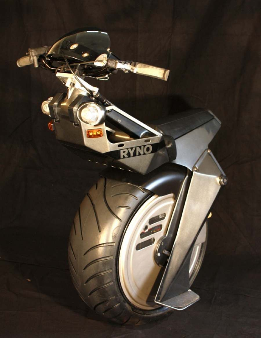Ryno Electric Unicycle Video Wordlesstech Electric Scooter Motorcycle Unicycle