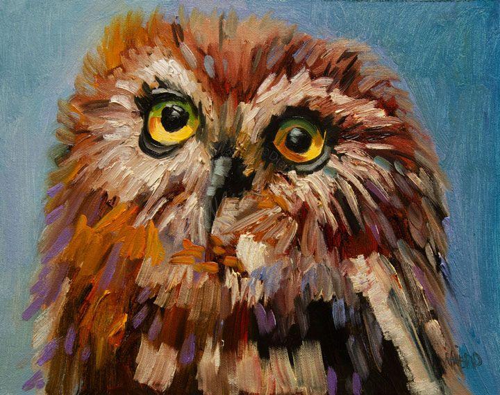 Owl Art Paintings