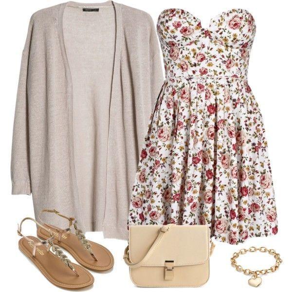 Outfits Vestidos Floreados