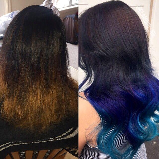 Mermaid Hair Transformation Before And After 100 Real Human Hair