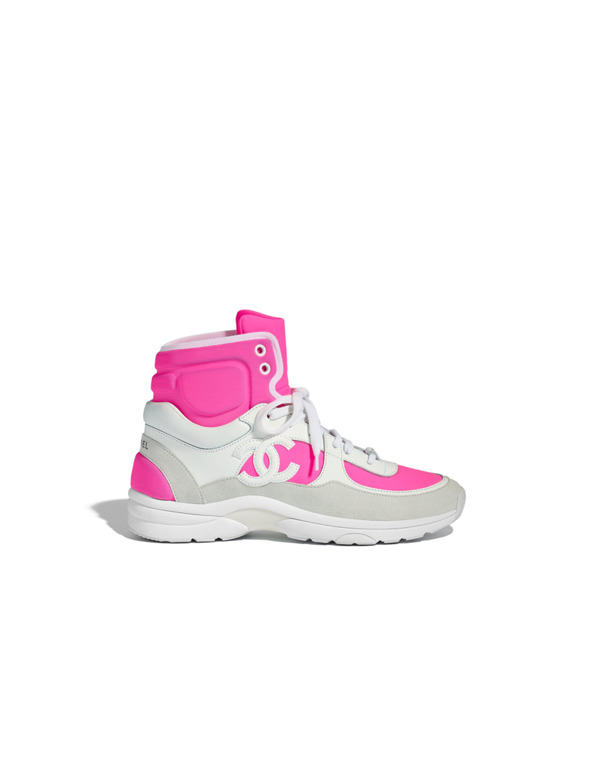 Chanel shoes, Chanel sneakers