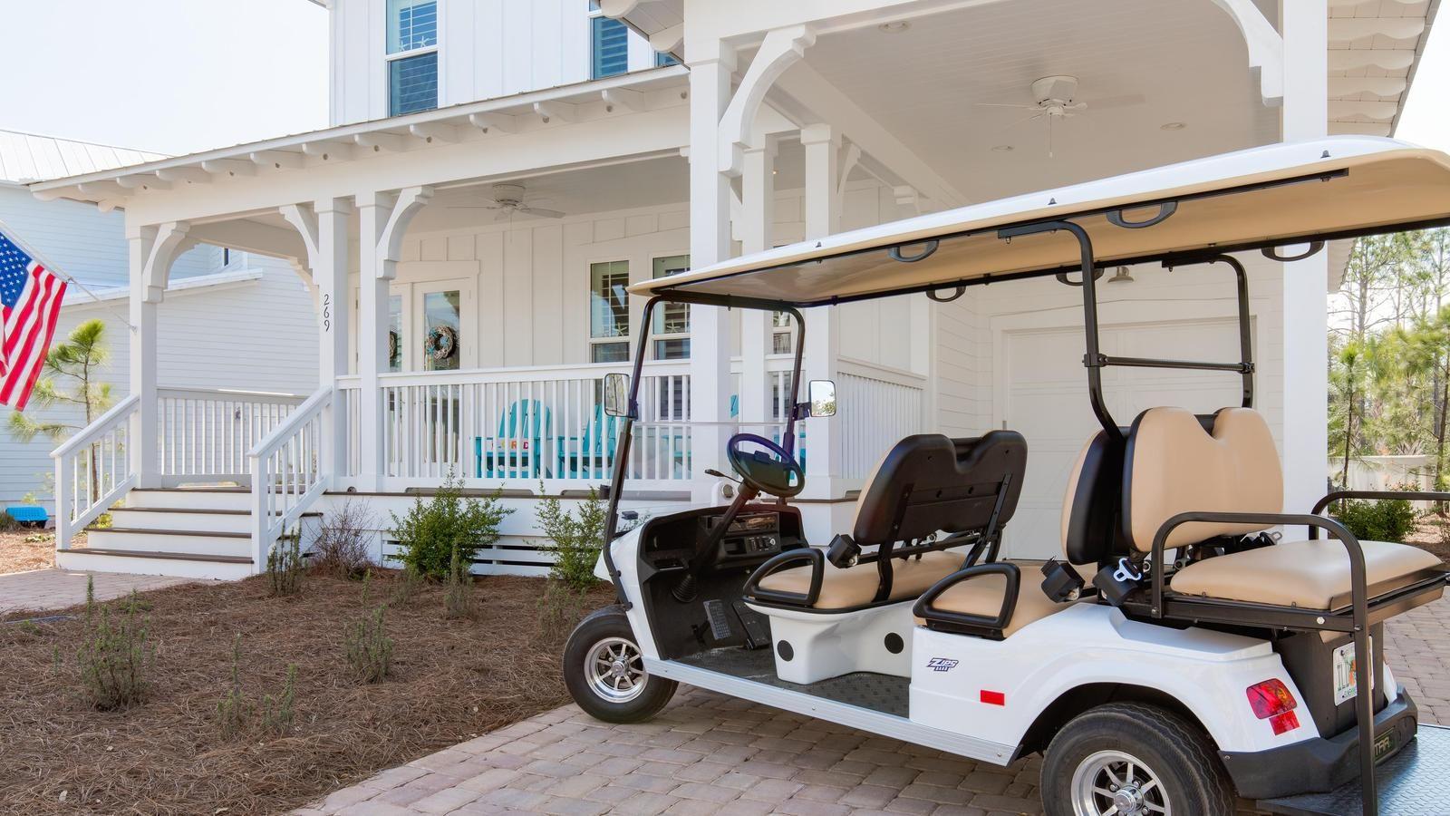 Naturewalk in the key of sea golf cart destin 30a