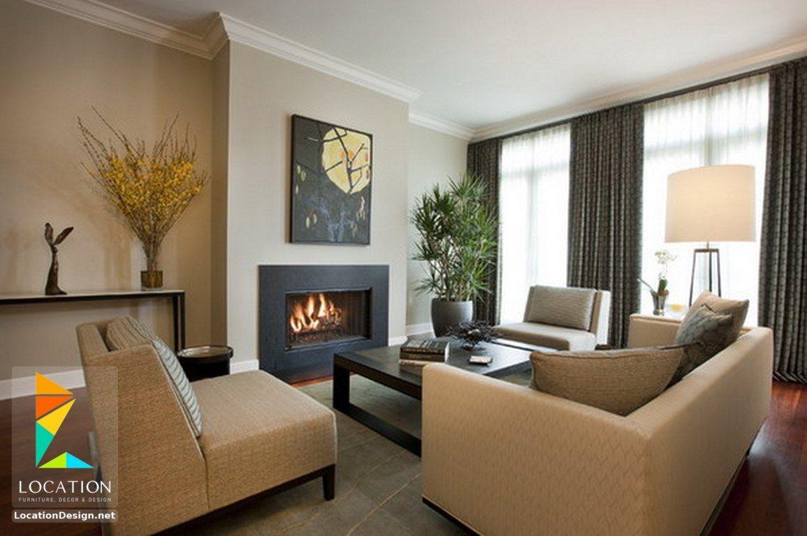 احدث كتالوج صور غرف معيشة مودرن 2017 2018 تصاميم غرف معيشة صغيرة Beige Living Rooms Contemporary Family Rooms Minimalist Living Room