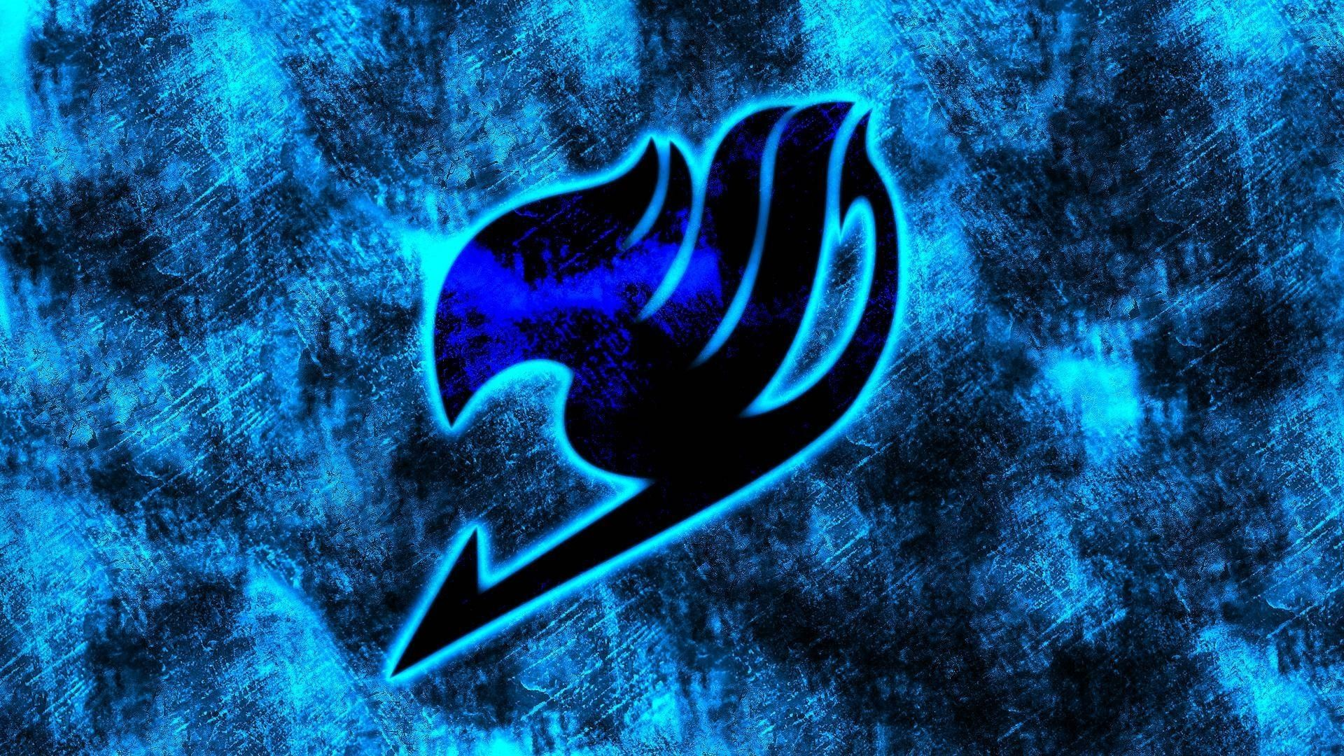 10 Top Fairy Tail Logo Blue FULL HD 1920×1080 For PC