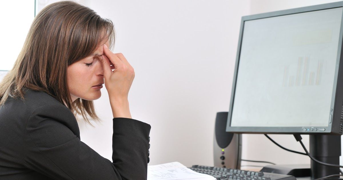 Do you experience headaches when using a computer? Here's