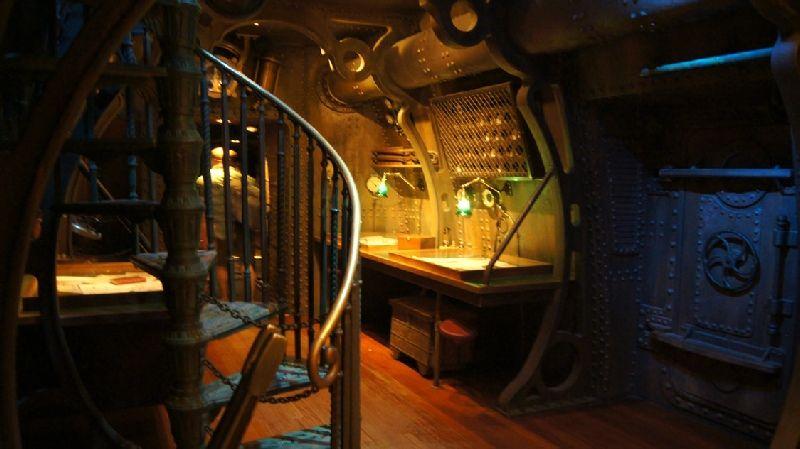 #Disneyland Paris. Les Mysteres du Nautilus in Discoveryland #DLP #DLRP #Disney