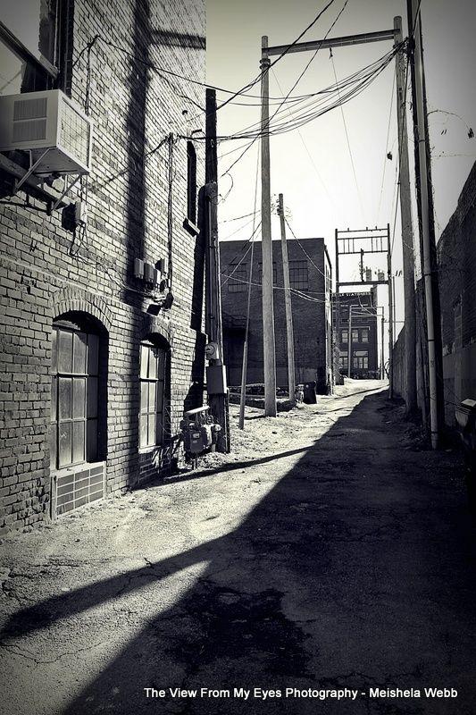 Alley in Guthrie, OK