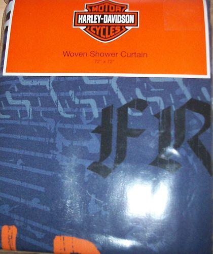 Harley Davidson Shower Curtain 72 X 72 N Ip Ebay