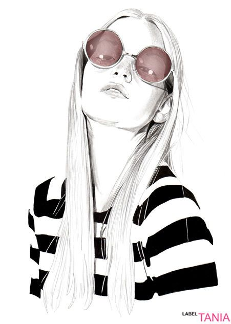 {cause i've got a jet black heart    and there's a hurricane underneath it}  @rw_p   ☆ art ☆   Pinterest   Fashion illustrations, Illustrations and  Fashion