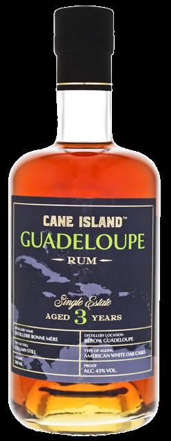 Cane Island Guadeloupe Single Estate Rum 3YO online in