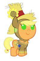 Baby Pinkie Pie on Nightmare Night by *Beavernator on deviantART