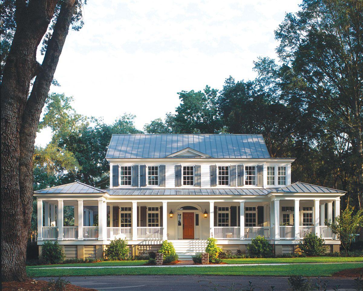 Carolina Island House Plan 481 Porch House Plans Southern Living House Plans Island House