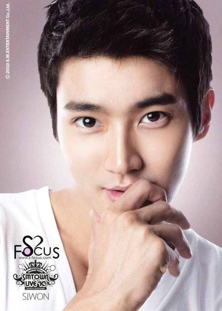 Choi Si Won Born February 10 1987 Is A South Korean Singer And Actor He Is A Member Of The Siwon Choi Siwon Super Junior