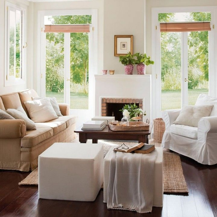 Salas acogedoras espacios interiorismo residencial for Decoracion de casas acogedoras