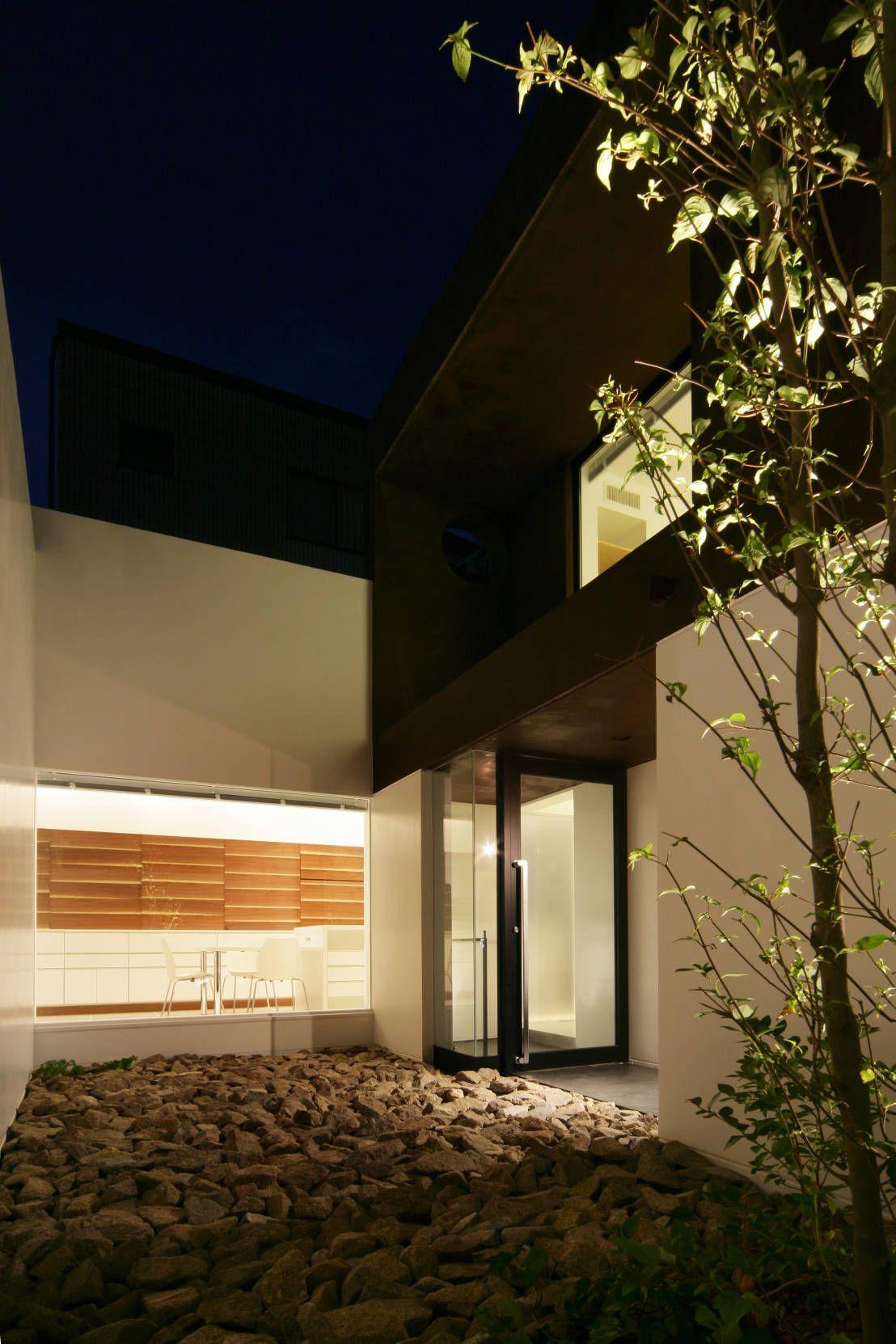 Den Nen Architecture の モダンな 庭 House in Ako