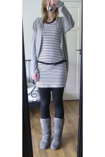 Gray Sweater Uggs