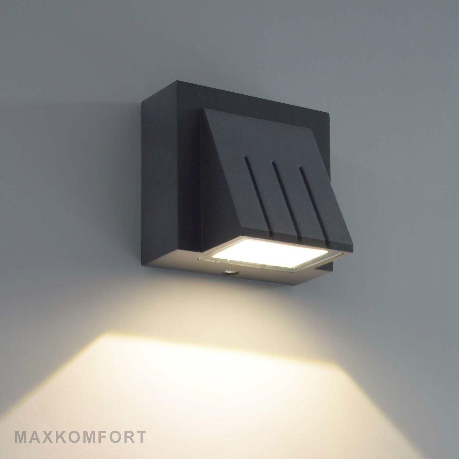 Led Außenleuchte Wandlampe Wandleuchte Außenlampe Außenlicht
