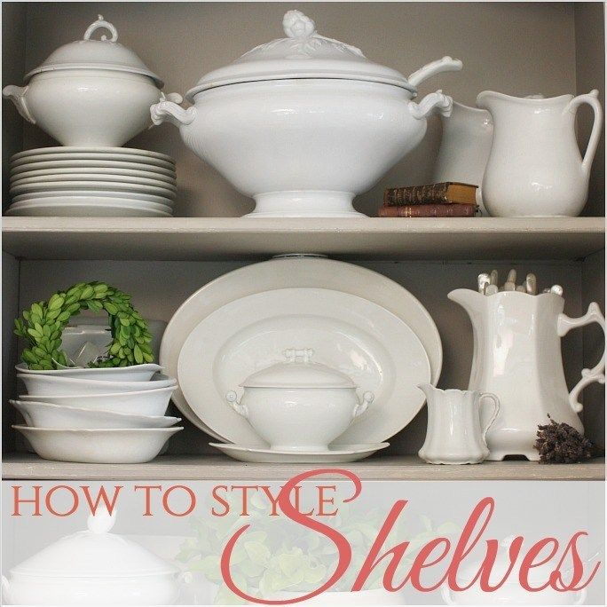 Photo of French Country | How to Style Shelves – French Garden House