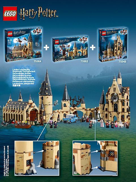Combining Lego Harry Potter Sets More Harry Potter Lego Sets Lego Harry Potter Lego Hogwarts