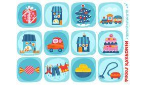 Pikku Kakkonen: Kommunikaatiokortit