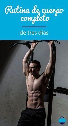 ¿Sin #tiempo para #entrenar? #Rutina completa de tres días #workout #entrenamiento #fitness #ejercic...