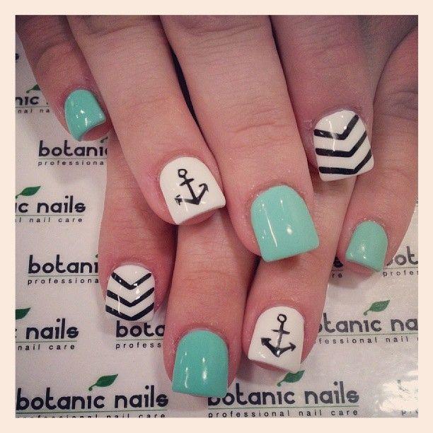 60 Cute Anchor Nail Designs - 60 Cute Anchor Nail Designs Nail Nail, Instagram And Anchor Nails