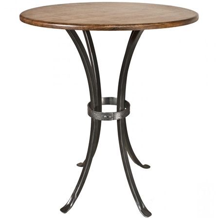 Beautiful Montage Counter Height Table | 42in Round Top