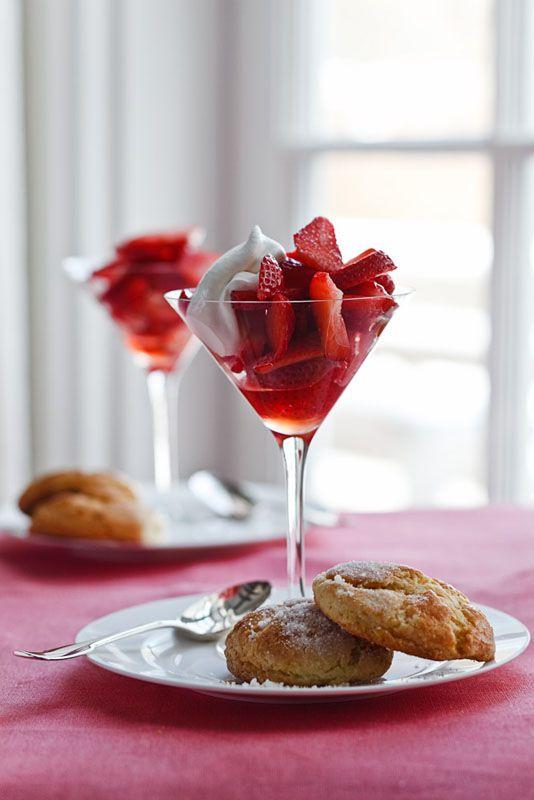 I Love To Serve Dessert In Martini Glasses So Elegant And
