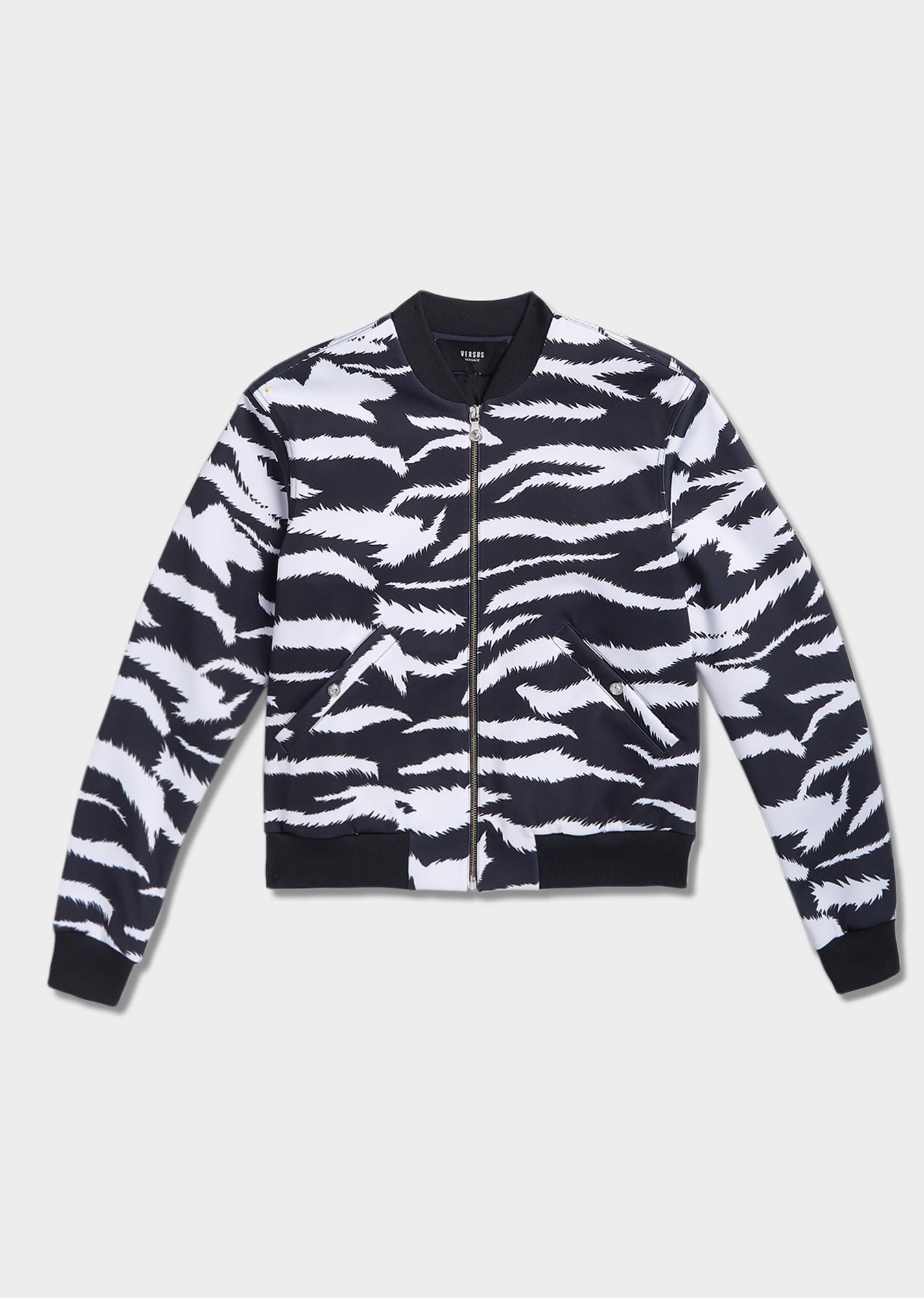 312a8b2489 Versus Versace Zebra Print Bomber Jacket 295 EUR. | My Style ...