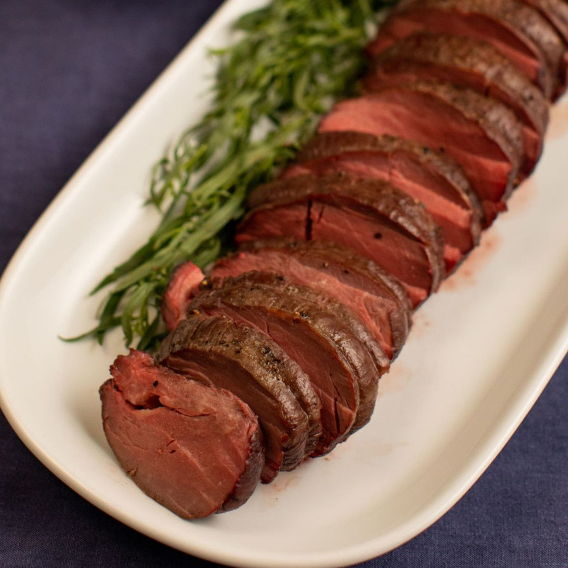 Summer Filet Of Beef With Bearnaise Mayonnaise Recipe Beef Filet Beef Tenderloin Recipes Food Network Recipes