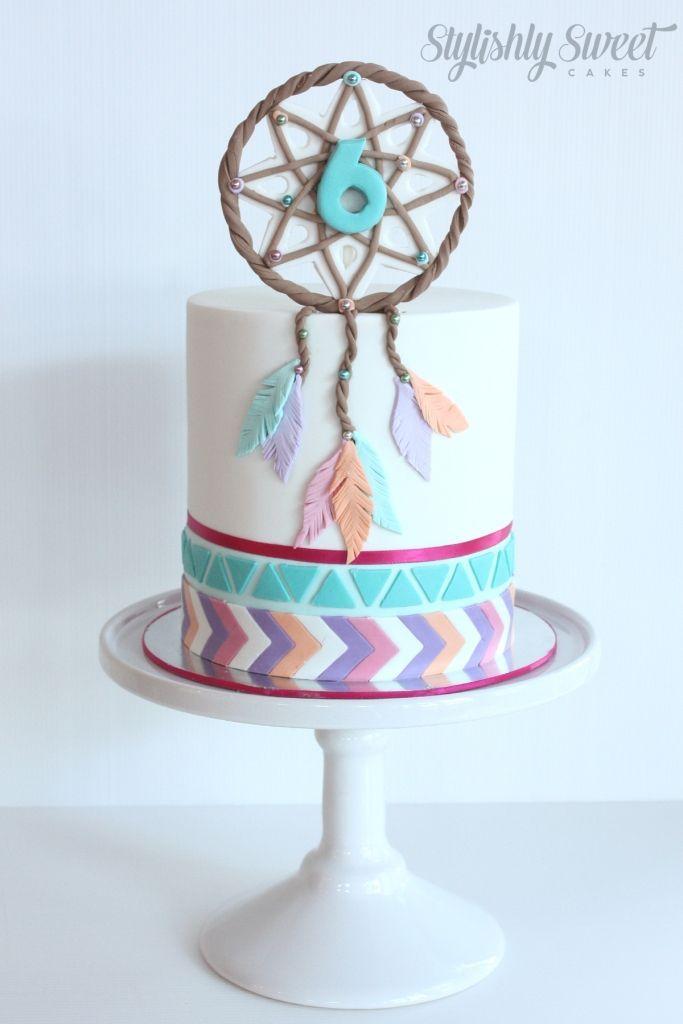 Dream Catcher Birthday Cake | Children's birthday cakes made to order Northern Beaches. Custom made ...
