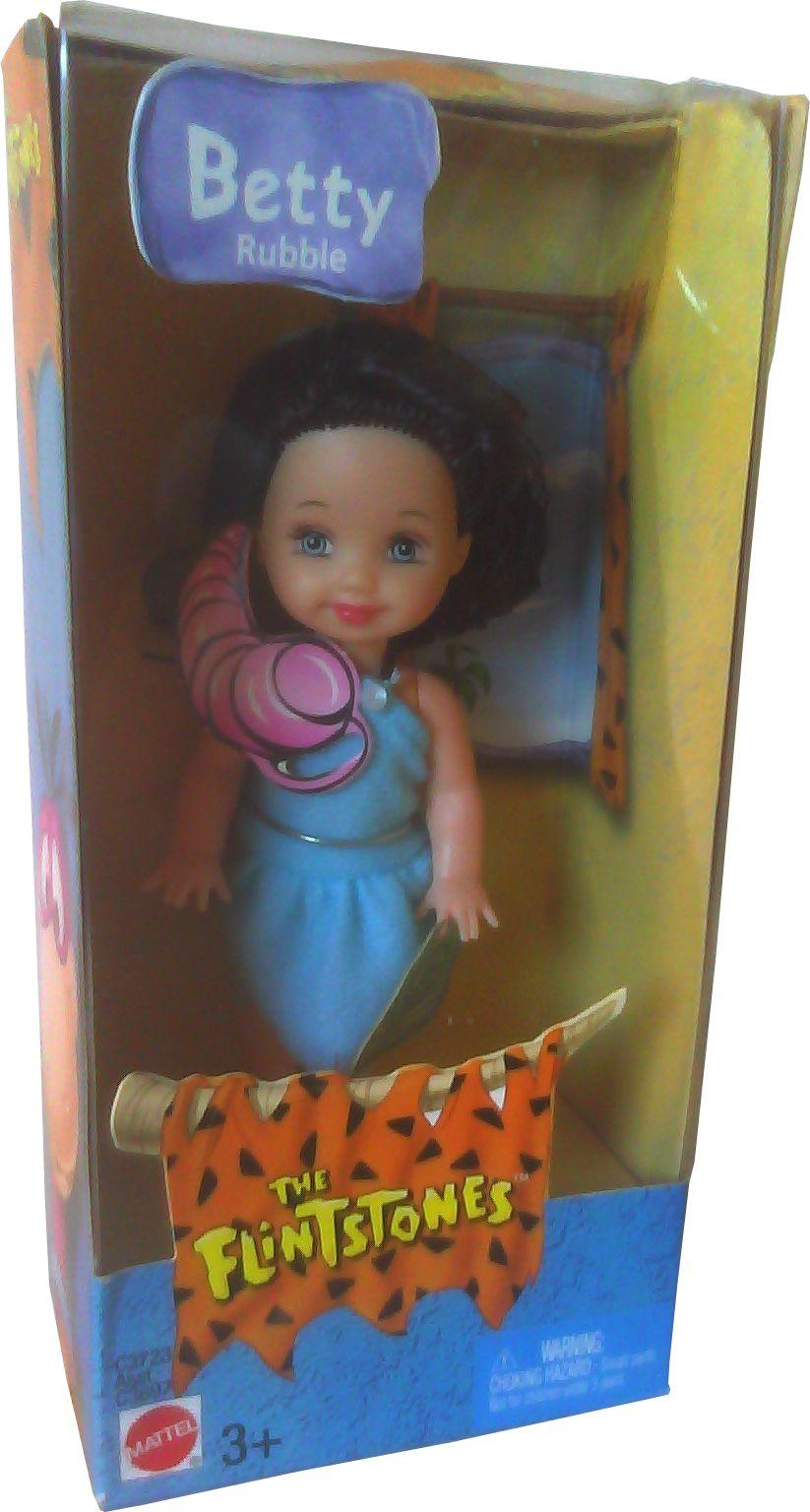 MATTEL Barbie KELLY DOLL CLOTHES FLINTSTONES BETTY RUBBLE DRESS NEW FROM BOX