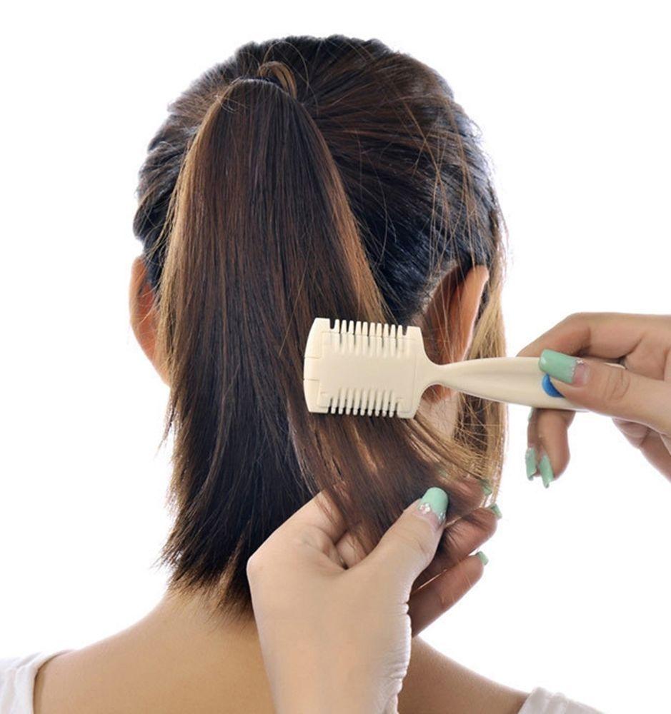 Women Self Hair Trimming Knife Cutter Razor Comb Blade Pet