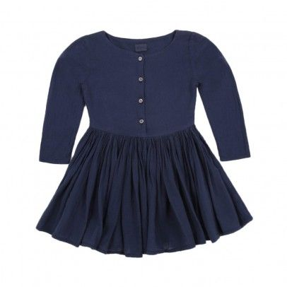Agathe Canella dress Navy blue  Morley £71