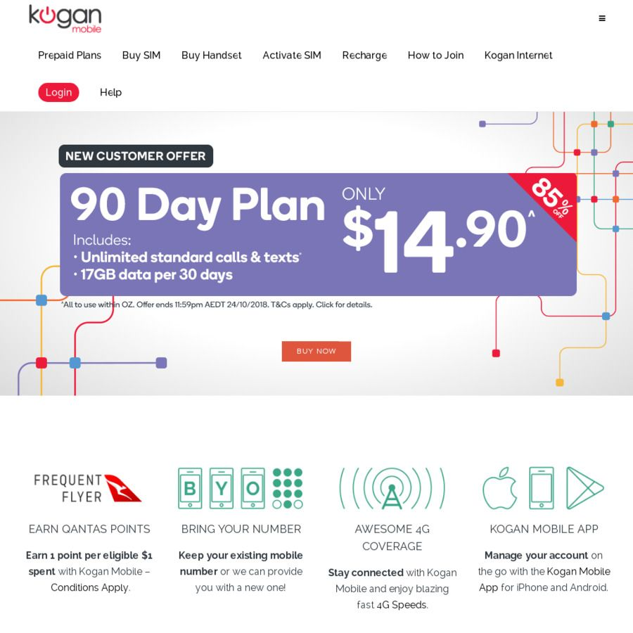 Kogan Mobile Contact Number Existing Customers Kogan Mobile Data Upgrades On Plan For This