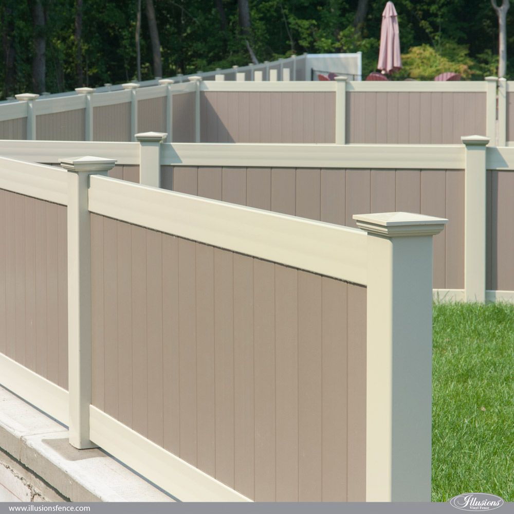 Illusions Pvc Vinyl Fence Photo Gallery Vinyl Fence Colors