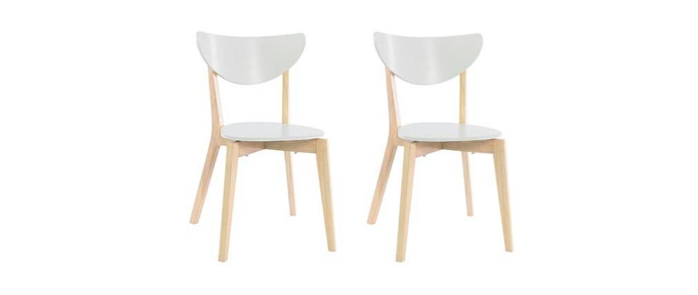Leroy Merlin Tavoli E Sedie Da Cucina.Gruppo Di 2 Sedie Design Color Bianco Leena Sedia Design Design
