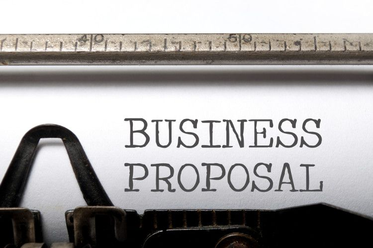 Business Proposal Template \u2013 Using A Target-Based Project #Proposal