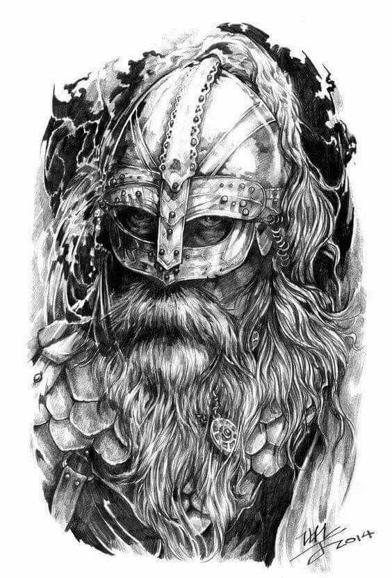 viking wikinger tattoo pinterest. Black Bedroom Furniture Sets. Home Design Ideas