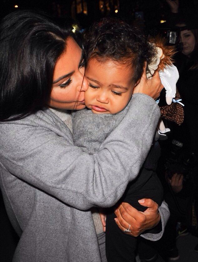 Kim Kardashian And North West Kim Kardashian And North Kim